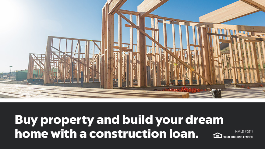 Buy Property And Build Your Dream Home With A Construction Loan