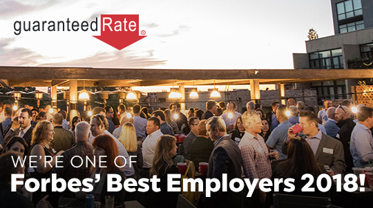 Forbes Names Guaranteed Rate as One of America's Best Employers