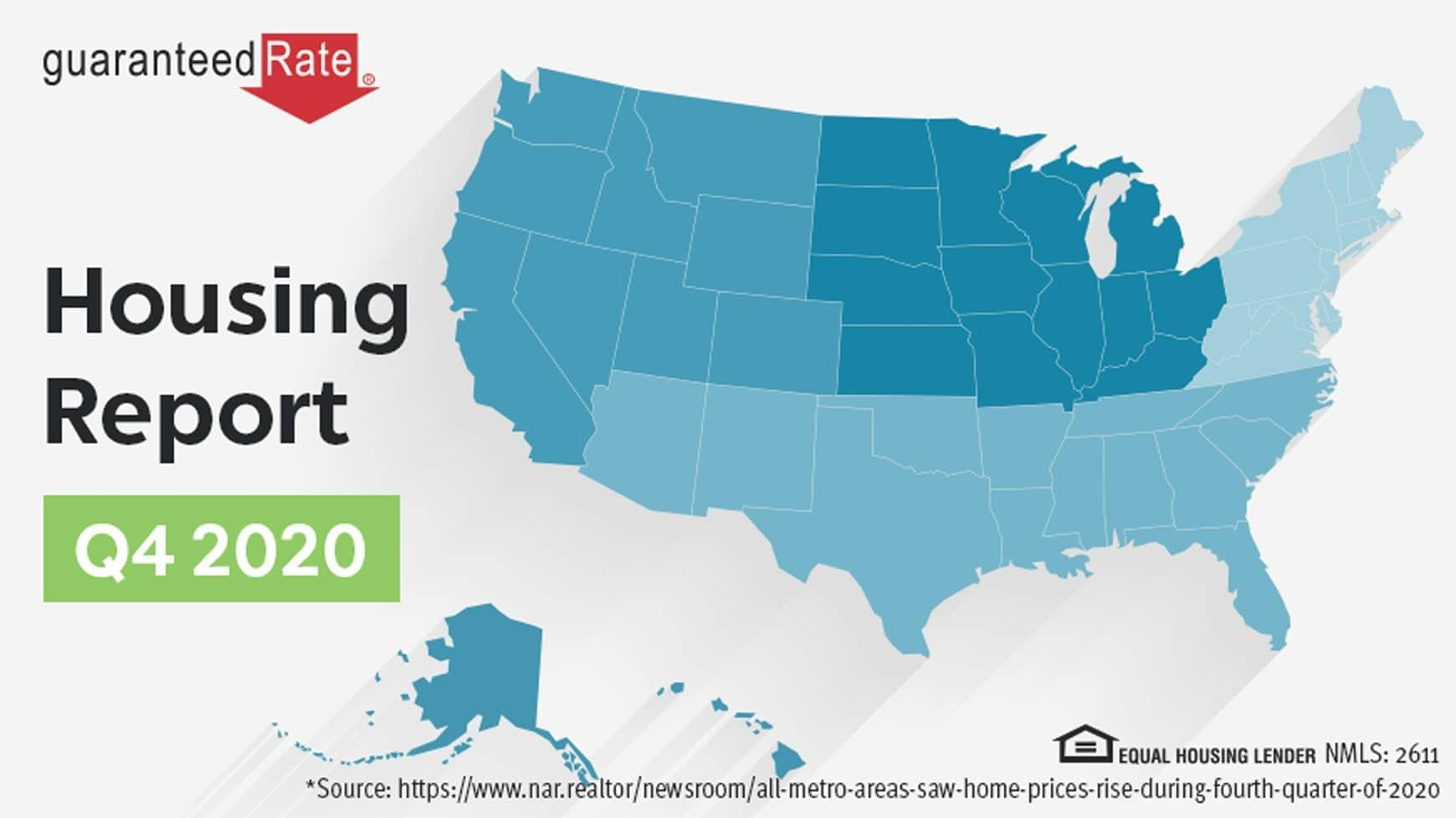 Q4 Report: Home prices increase across the board