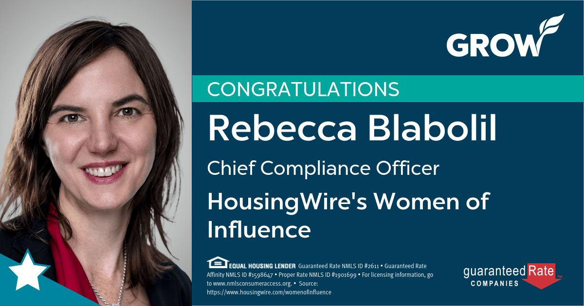 Rebecca Blabolil named a HousingWire 2021 Woman of Influence